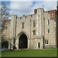 Gateway of former St Albans Abbey