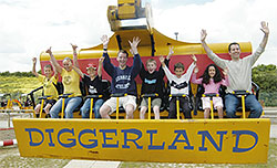 Diggerland Spin Dizzy Ride