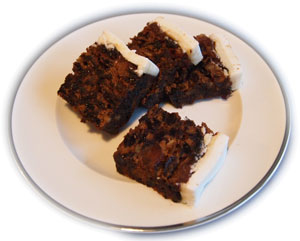 British Christmas Cake.Christmas Cake Traditional British Recipes