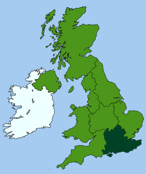 Map Of England Kent.Guide To Kent County England